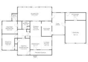 floor plan plus the finalized house floor plan plus some random plans and