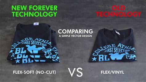 printable flex flex soft no cut vs flex vinyl print 3 fsnc t shirts