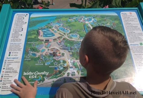 water country usa map a visit to water country usa how to it all