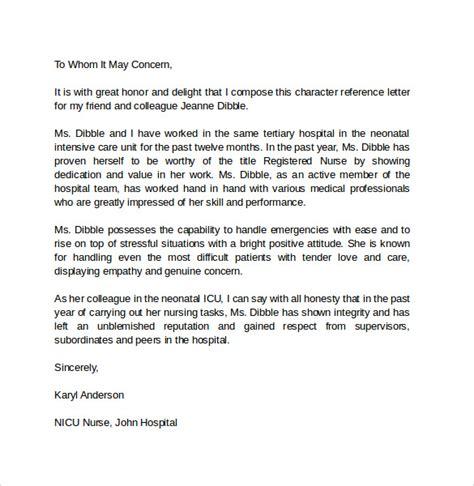 business letter of recommendation format sample letter of