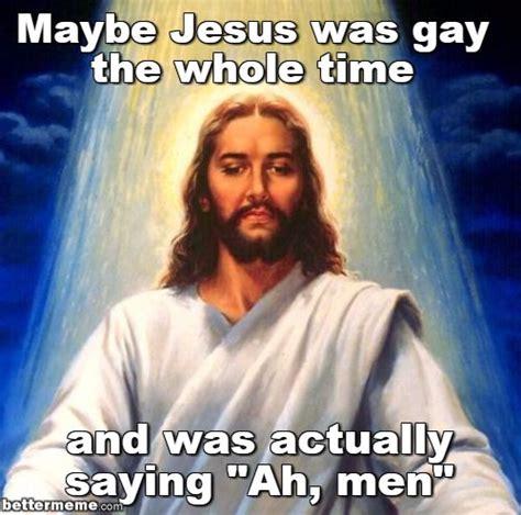 Memes Jesus - jesus ah men