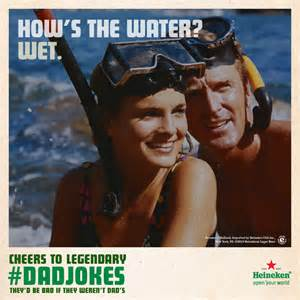 Heineken Meme - heineken celebrates corny dadjokes in father s day