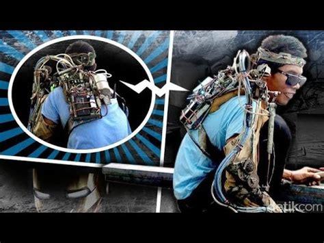 cara membuat tangan robot iron man iron man from bali indonesia tawan si tangan robot