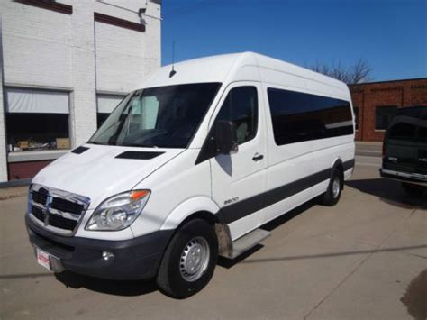 sell used 2009 dodge sprinter 2500 high top 170inch wheel chair passenger van in la crosse