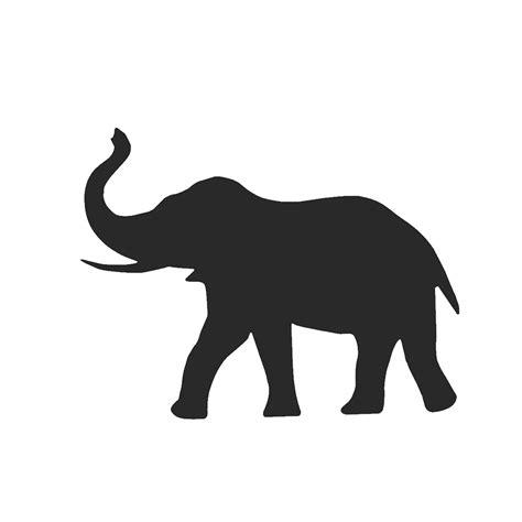 photo collection el elefante la silueta