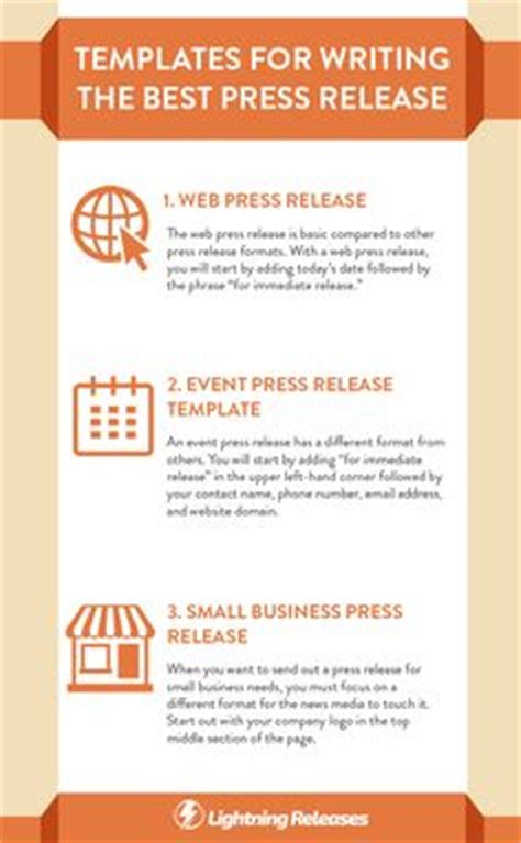 writing a press release template 1000 ideas about press release on