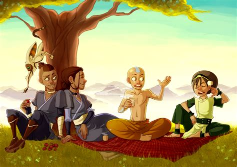 the avatar avatar the last airbender images the gaang hd wallpaper
