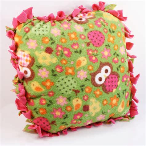 No Sew Fleece Pillow by No Sew No Sweat Fleece Pillow J O Fabrics Store