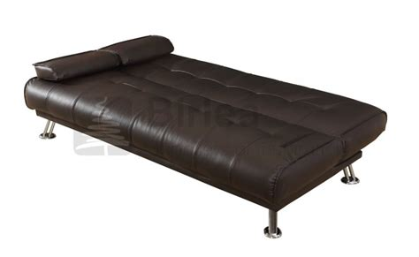 logan leather sofa birlea logan brown faux leather sofa bed by birlea