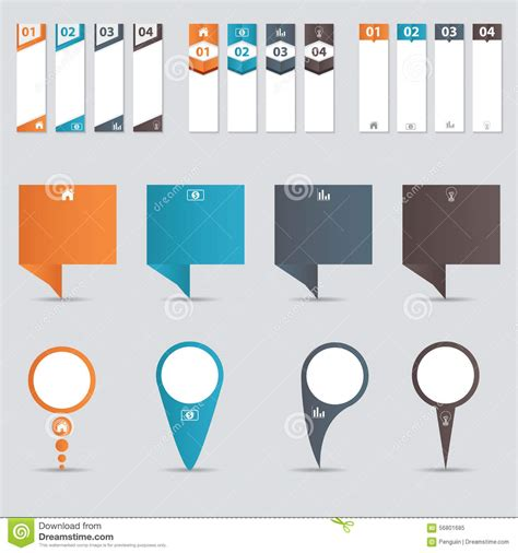 infographic templates for business vector illustration infographic banner templates for your business vector