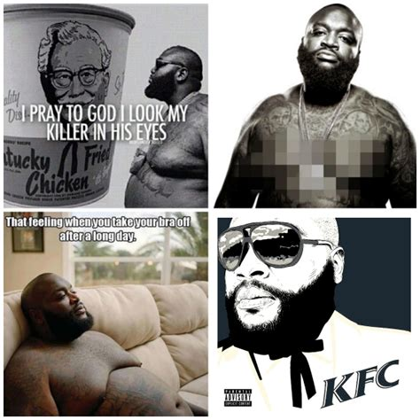 Rick Ross Meme - rick ross stunning transformation weight loss inspiration
