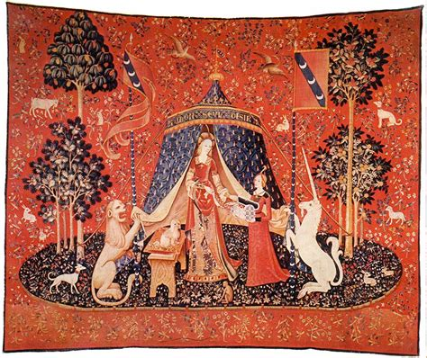 Tapisserie Moyen Age by Wot Tapestry
