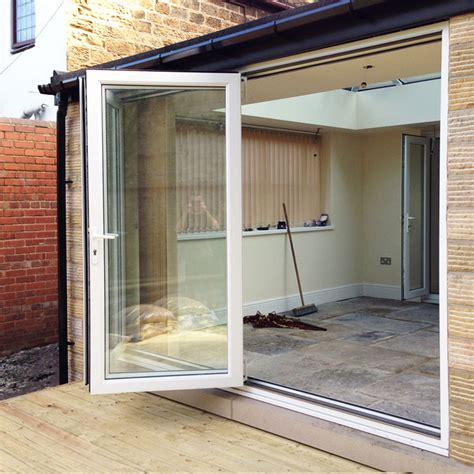 Bifold Patio Doors Upvc 10ft White Upvc Bifold Folding Doors Flying Doors