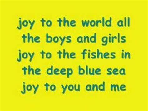 to the world lyrics three three to the world jeremiah was a bullfrog ya in you
