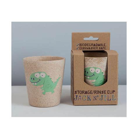 N Rinse Storage Cup Green Rabbit n dino rinse storage cup