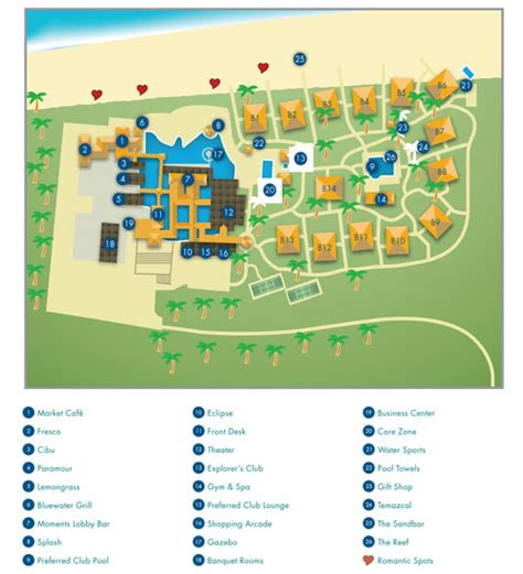 jade layout navigation now sapphire riviera cancun resort map my blog