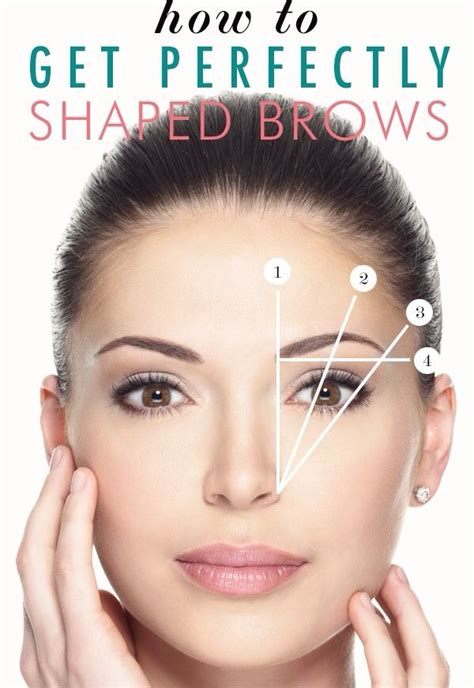 rough eyebrow hairs how to get perfectly shaped brows how to s pinterest