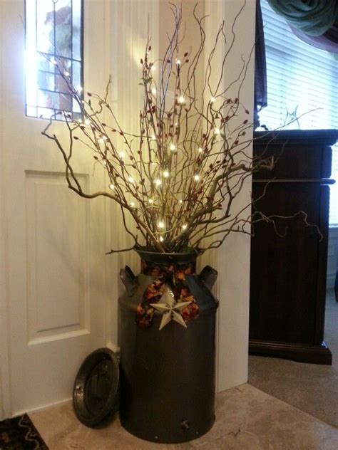 Can Decoration Ideas 25 best ideas about milk can decor on foyer