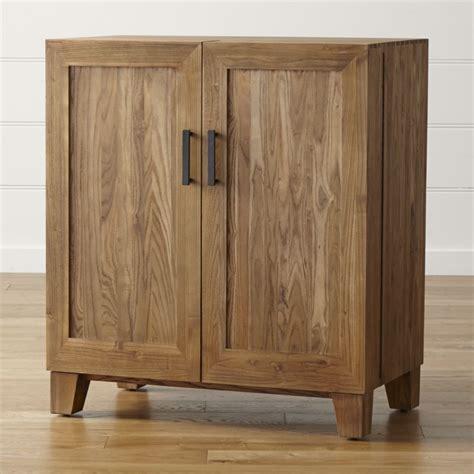 crate and barrel bar cabinet marin natural bar cabinet reviews crate and barrel