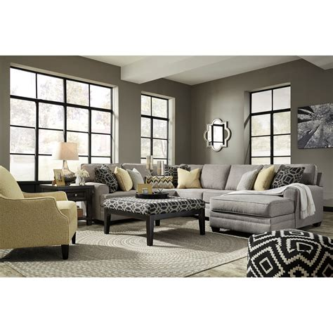 living room groups benchcraft cresson stationary living room group john v