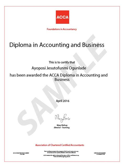 Mba After Acca In Usa by Study Fia Foundation In Accounting By Acca In Qatar