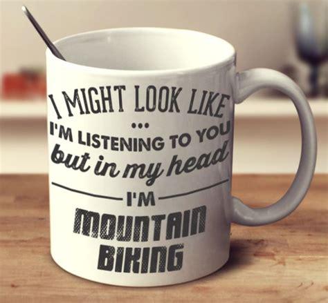 I M Muslim Mugs i might look like i m listening to you mountain biking