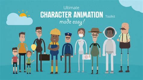 Ultimate Character Animation Toolkit By Neuronfx Videohive After Effects Character Rig Template