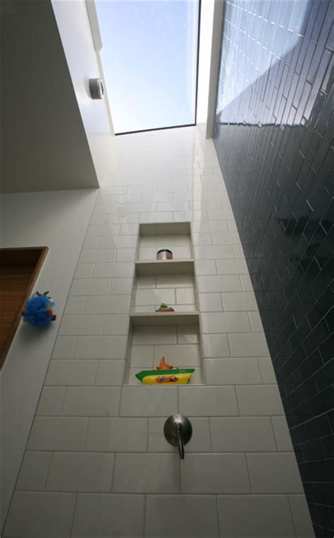 sunny bathroom skylight  tub bathroom san