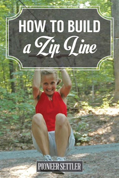 how to build a zip line in your backyard how to build a zip line on your homestead total survival