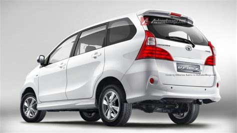 Lu Stop Toyota Avanza new toyota avanza facelift 2015 will be equipped with a