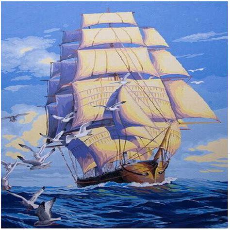 sailboat numbers sailboat oil painting reviews online shopping sailboat