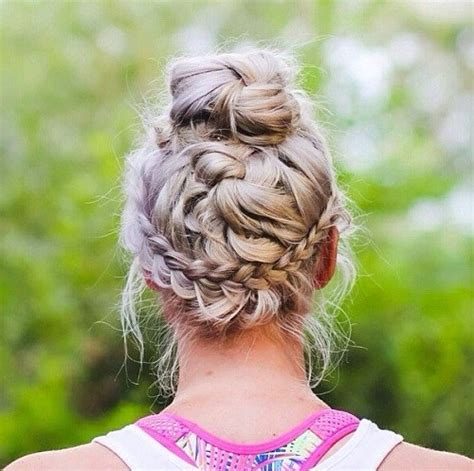 Sports Hairstyles by Chic Workout Hairstyles For Styles Weekly