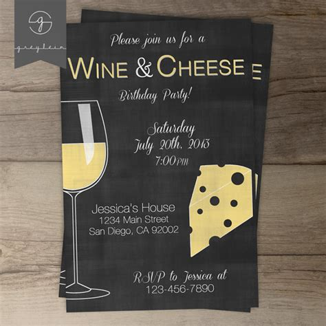 wine and cheese invitation template wine and cheese ideas b lovely events