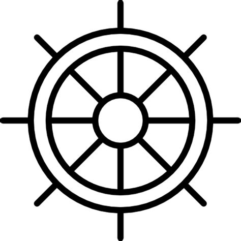 ship steering wheel free other icons - Boat Steering Wheel Icon
