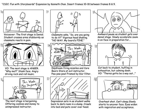 membuat storyboard aplikasi multimedia ppt 10 best images about storyboard on pinterest four square