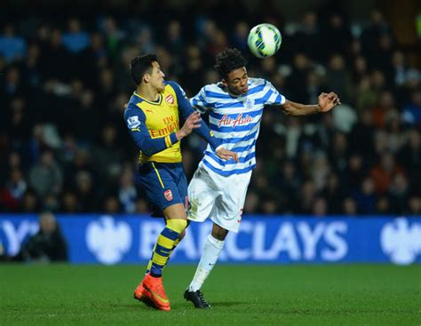 alexis sanchez vs qpr darnell furlong photos zimbio