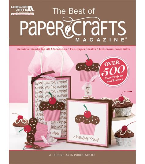 Best Paper Crafts - leisure arts best of paper crafts magazine jo