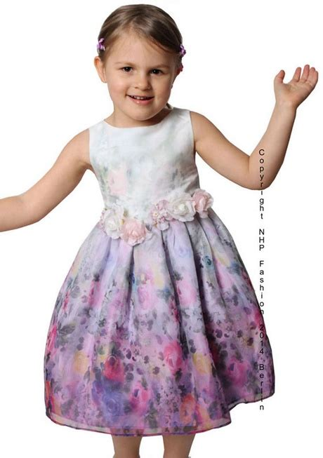 festliche kinderkleider lila