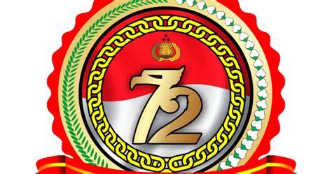 tema logo spanduk hut bhayangkara