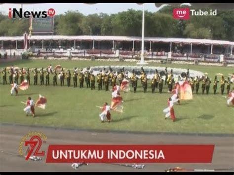 detik event detik detik pembukaan upacara pengibaran bendera merah