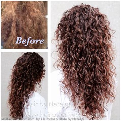 can i wet my hair after a perm ehow by haircolor style by natalya before and after