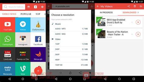 aptoide snaptube como instalar snaptube descargar snaptube