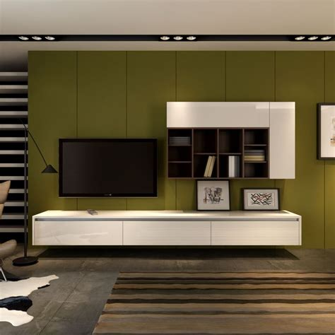 floating wall mounted entertainment unit  wall storage