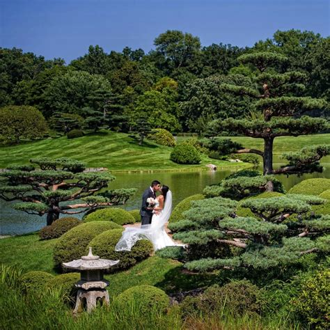 Chicago Botanic Gardens Chicago Botanic Garden Weddings