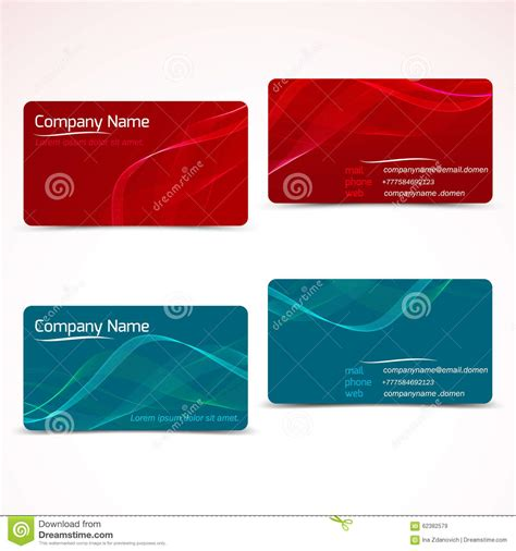 how to set up a business card template in photoshop business cards template or visiting card set stock