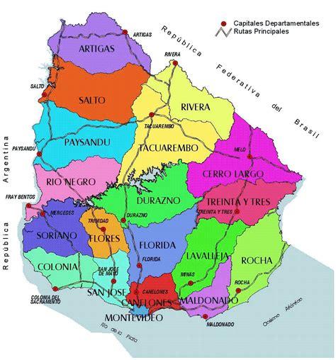 imagenes satelital del uruguay map of uruguay oriental republic of uruguay maps mapsof net