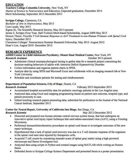 Letter Of Interest For Research Scientist sle research scientist resume http exleresumecv org sle research scientist resume