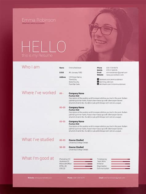 Amazing Resume Templates by Resume Templates Resume And Templates On