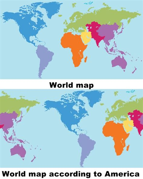 map world according to world map according to usa by nobel spectrum on deviantart