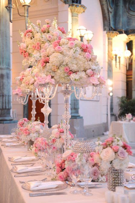 25 best ideas about pink table settings on wedding reception tables blush wedding